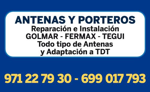 Reparacion de antenas mallorca