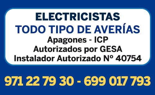 Electricistas en Mallorca