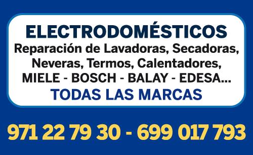 Electrodomésticos en Palma de Mallorca