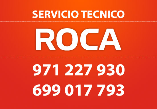 Servicio t cnico roca reparaciones a domicilio en palma for Servicio tecnico roca palma de mallorca